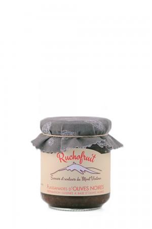 Tapenade af sorte oliven og kapers