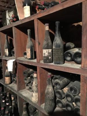gamle vinflasker