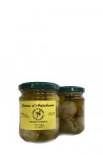 artiskokker i ekstra jomfru olivenolie