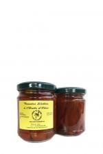 soltørrede tomater i ekstra jomfru olivenolie